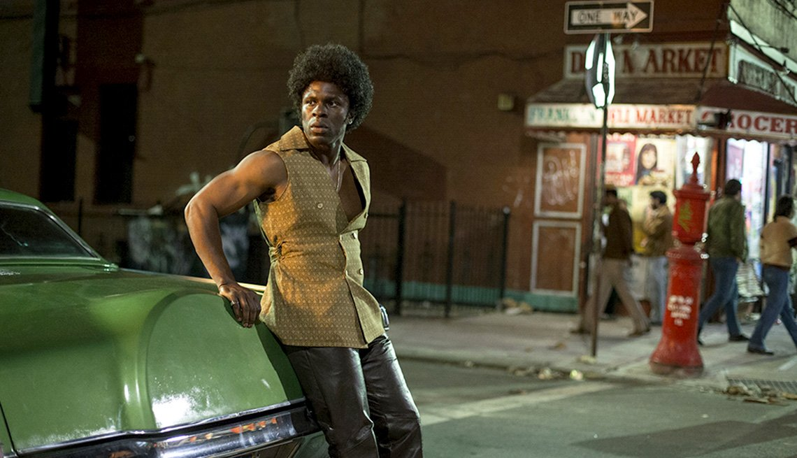 Gbenga Akinnagbe in 'The Deuce'
