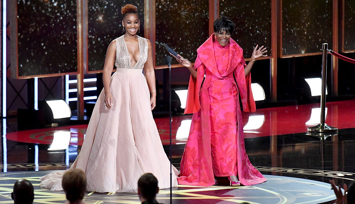 Anika Noni Rose and Cicely Tyson