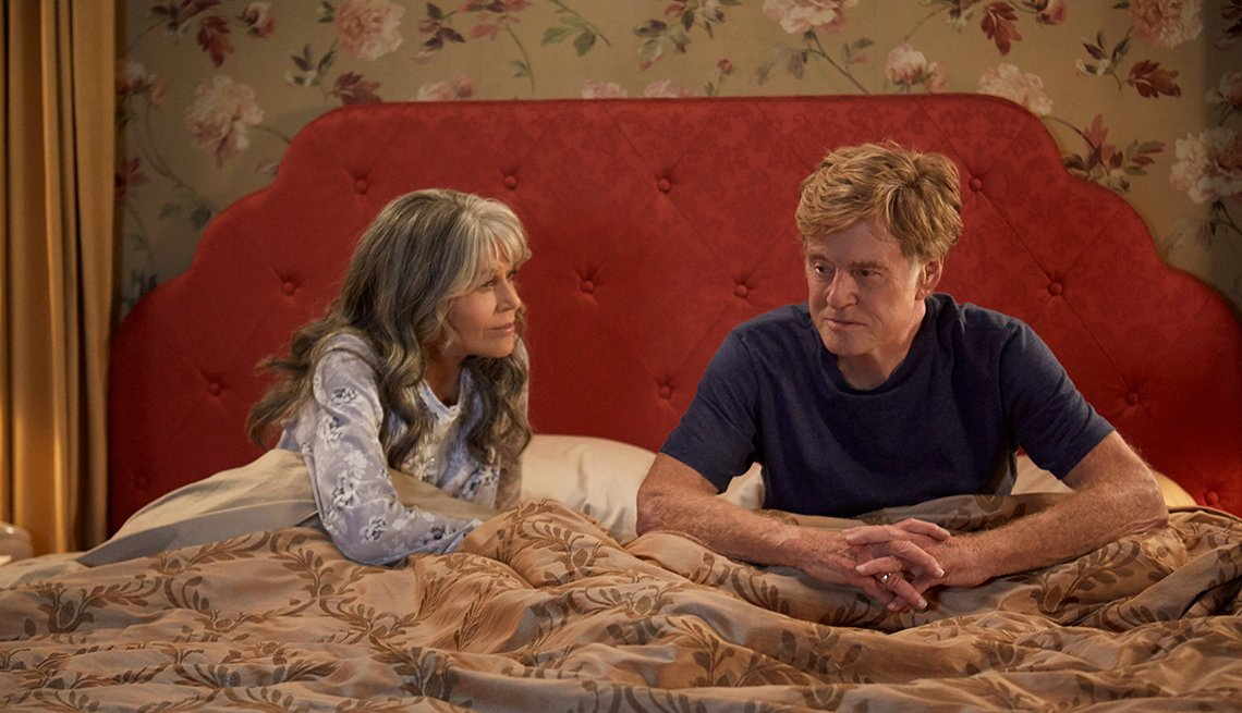 Jane Fonda and Robert Redford in 'Our Souls at Night'