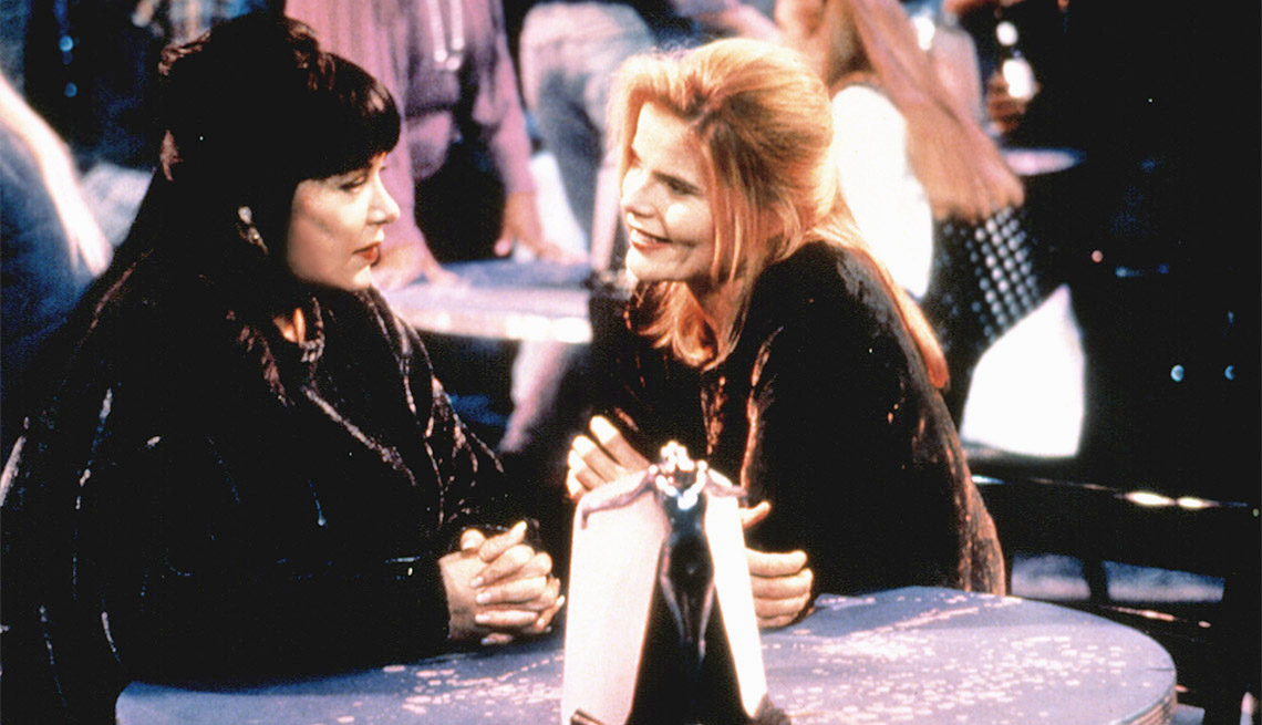 """roseanne in the episode dont ask dont tell But in its original run, the actress fought abc over the march 1, 1994 episode called """"don't ask, don't tell,"""" in which mariel hemingway guest-starred as sharon, a lesbian who plants a."""