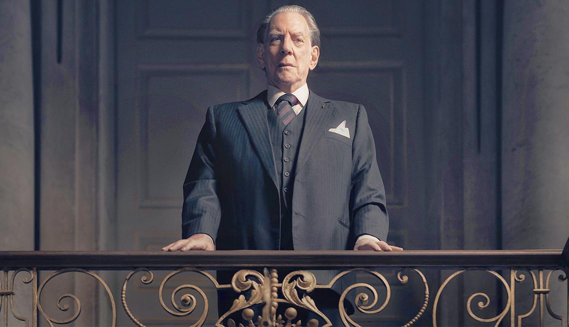 Donald Sutherland as J. Paul Getty, Sr.