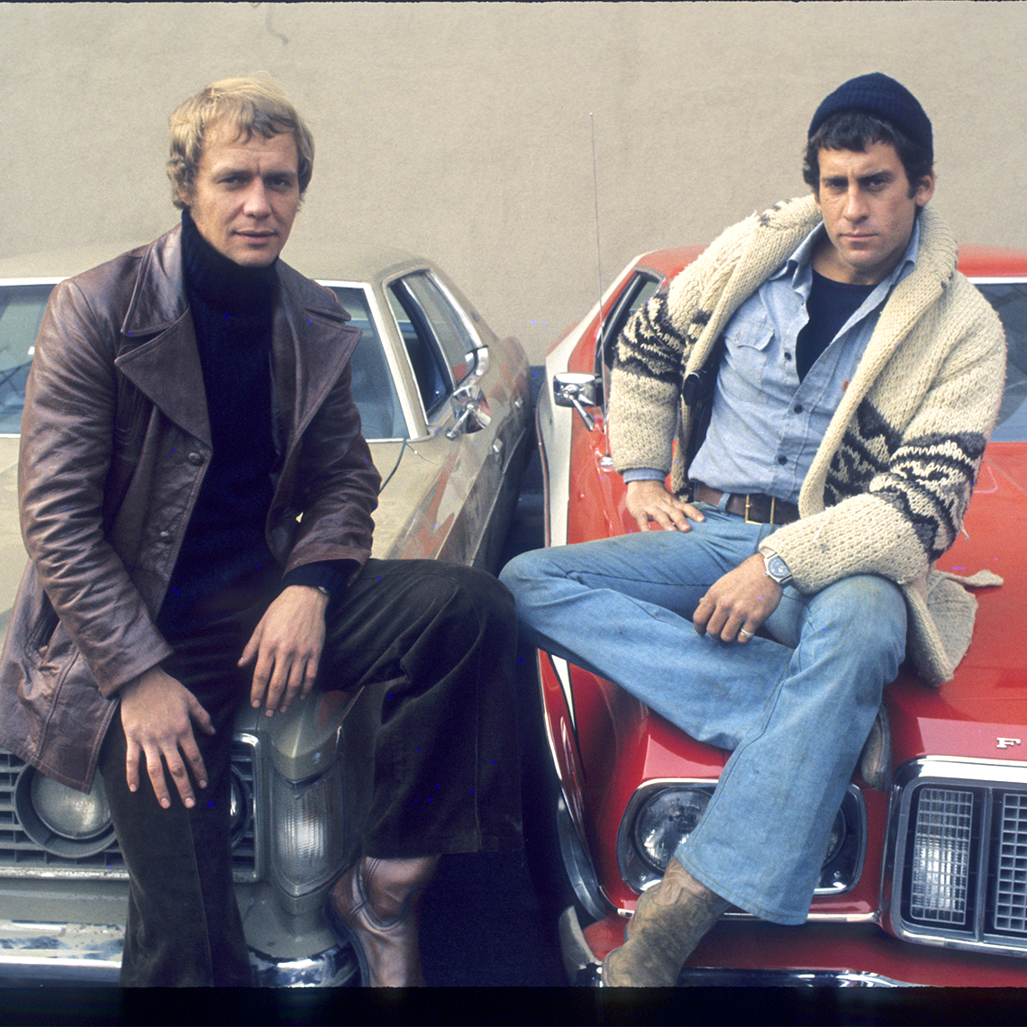 Back To The Future 1962 1975 May 2013: David Soul And Paul Michael Glaser Pose On The Hood Of