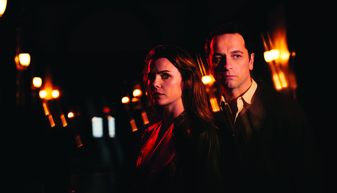 Keri Russell and Matthew Rhys in the FX series 'The Americans'