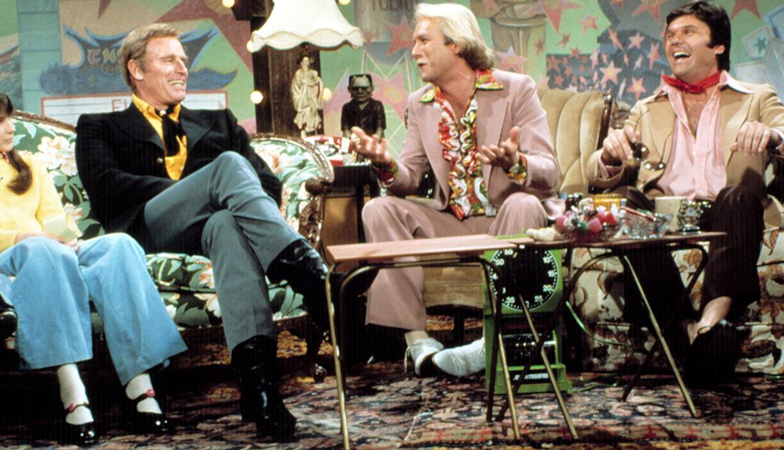 "item 8 of Gallery image - Charlton Heston, Martin Mull and Fred Willard on ""Fernwood-2-Night"""