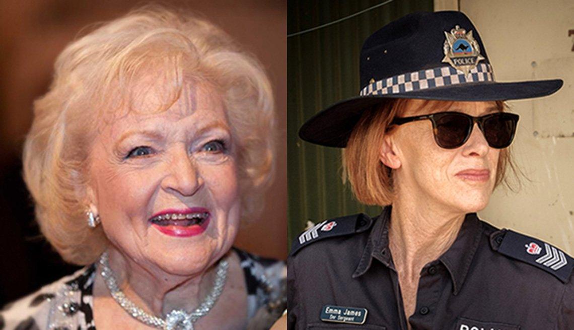 Betty White and Judy Davis