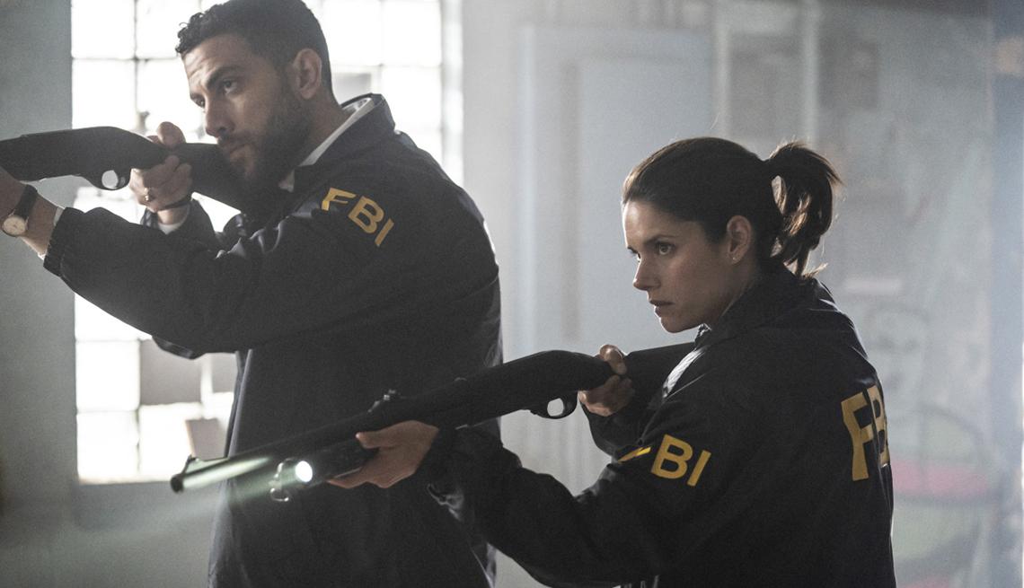 "item 3 of Gallery image - Zeeko Zaki and Missy Peregrym in CBS' ""FBI"""