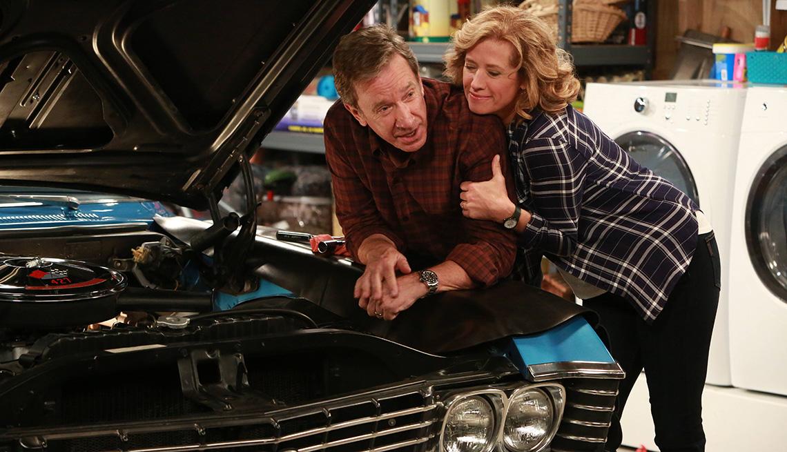 "item 6 of Gallery image - Tim Allen and Nancy Travis in ""Last Man Standing"" on FOX"