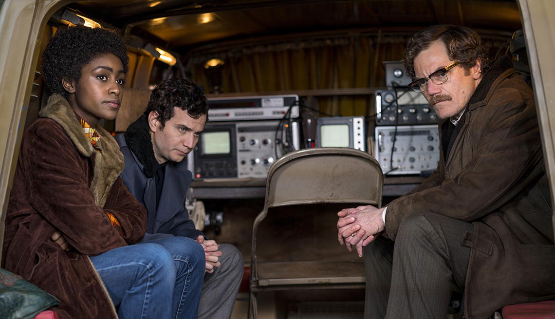 """item 14 of Gallery image - Simona Brown, Michael Moshonov and Michael Shannon in """"Little Drummer Girl"""" on AMC"""
