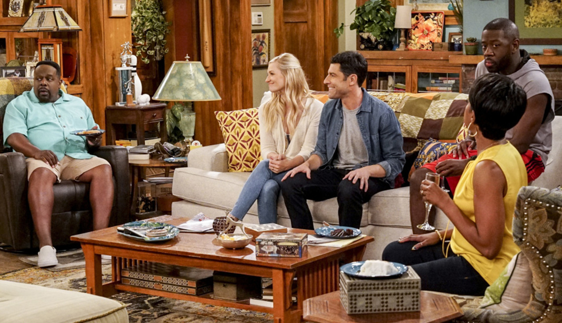 """item 8 of Gallery image - Cedric the Entertainer and Max Greenfield star in CBS' """"The Neighborhood"""""""