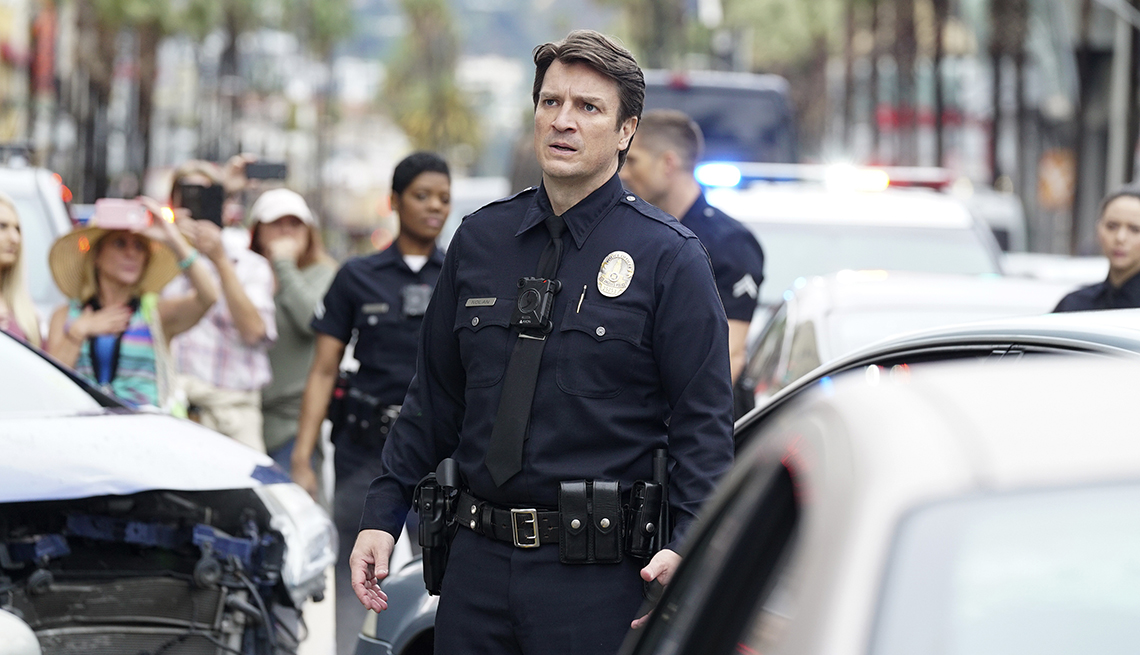 """item 10 of Gallery image - Nathan Fillion in ABC's """"The Rookie"""""""