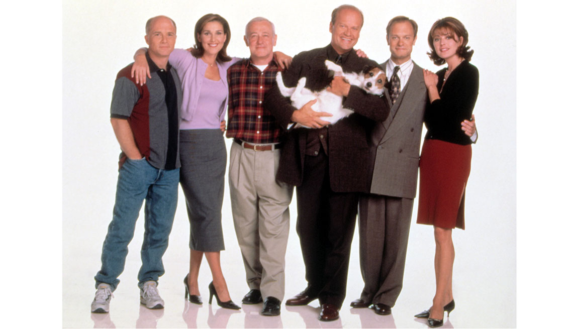 Animales estrellas de cine y TV - Eddie, Parson Russell Terrier, en la serie Frasier