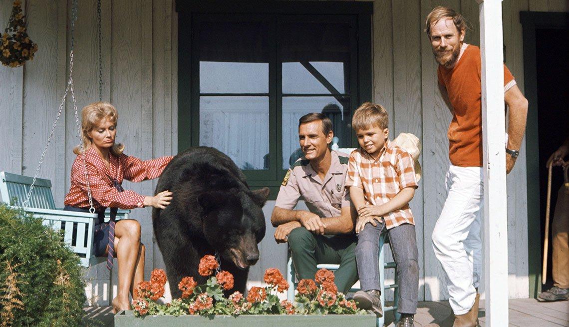 Animales estrellas de cine y TV - El oso Ben