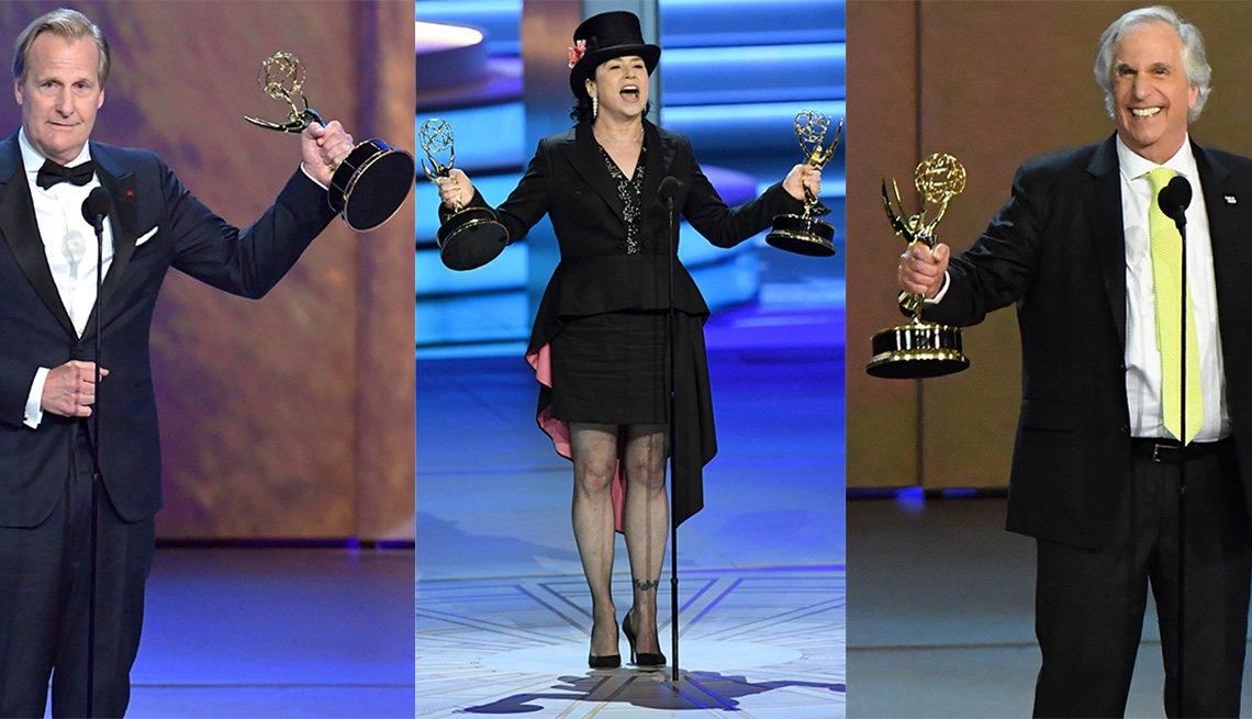 Jeff Daniels, Amy Sherman-Palladino, Henry Winkler