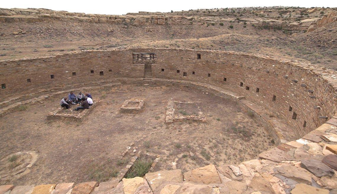A scene from Native America