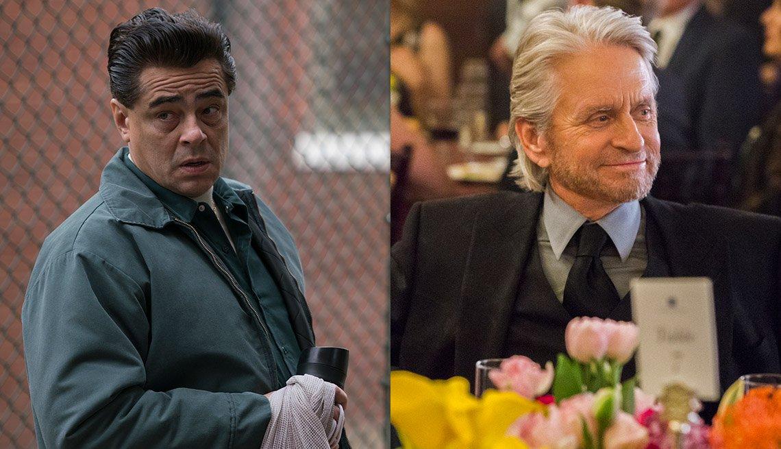 Benicio Del Toro, Michael Douglas