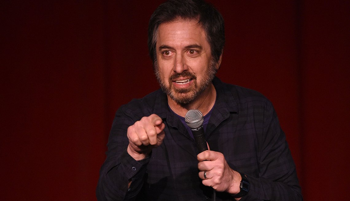 Ray Romano performs at an event