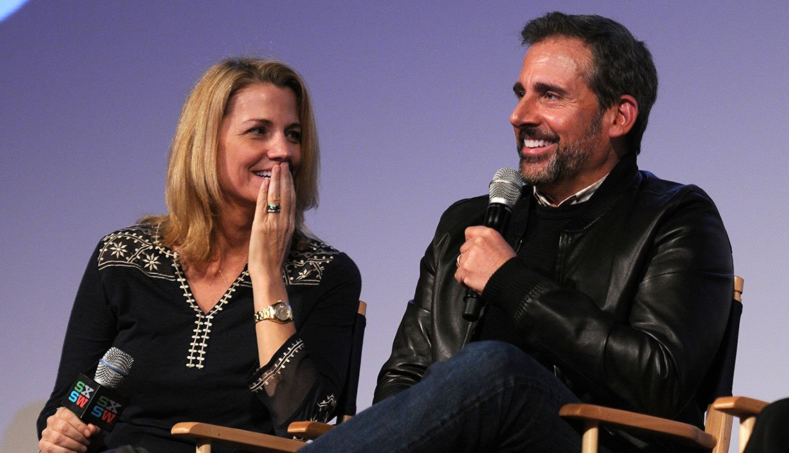 item 5 of Gallery image - Nancy Carell y Steve Carell