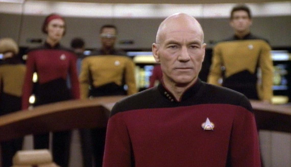 item 1 of Gallery image - Patrick Stewart como el Captán Jean-Luc Picard