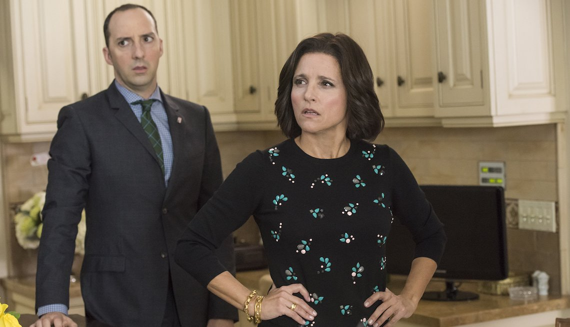 Tony Hale, Julia Louis-Dreyfus