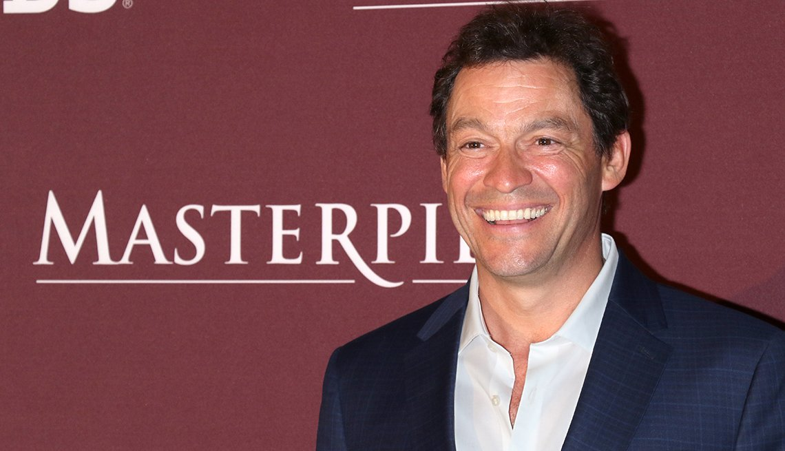 Actor Dominic West attends the Les Miserables New York premiere at Times Center on April 8 2019 in New York City.