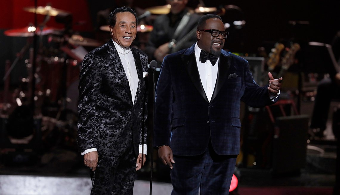 Cedric the Entertainer and GRAMMY Award winner Smokey Robinson host 'Motown 60: A Grammy Celebration'
