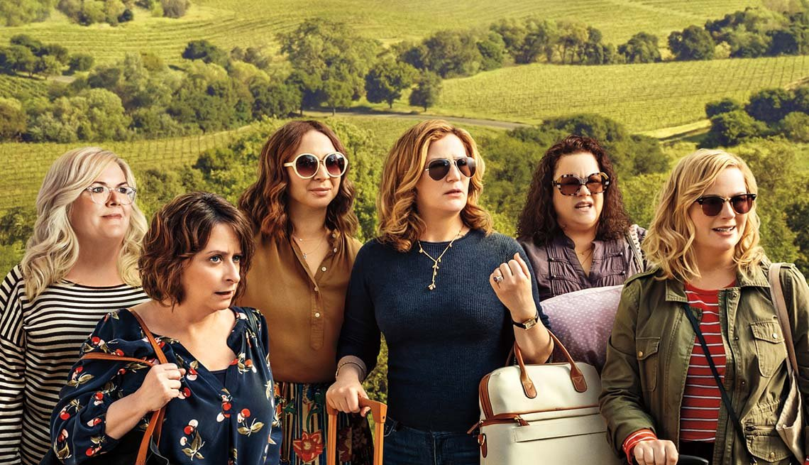 The cast of Wine Country