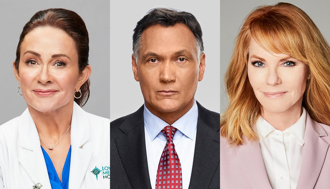 Patricia Heaton, Jimmy Smits and Marg Helgenberger