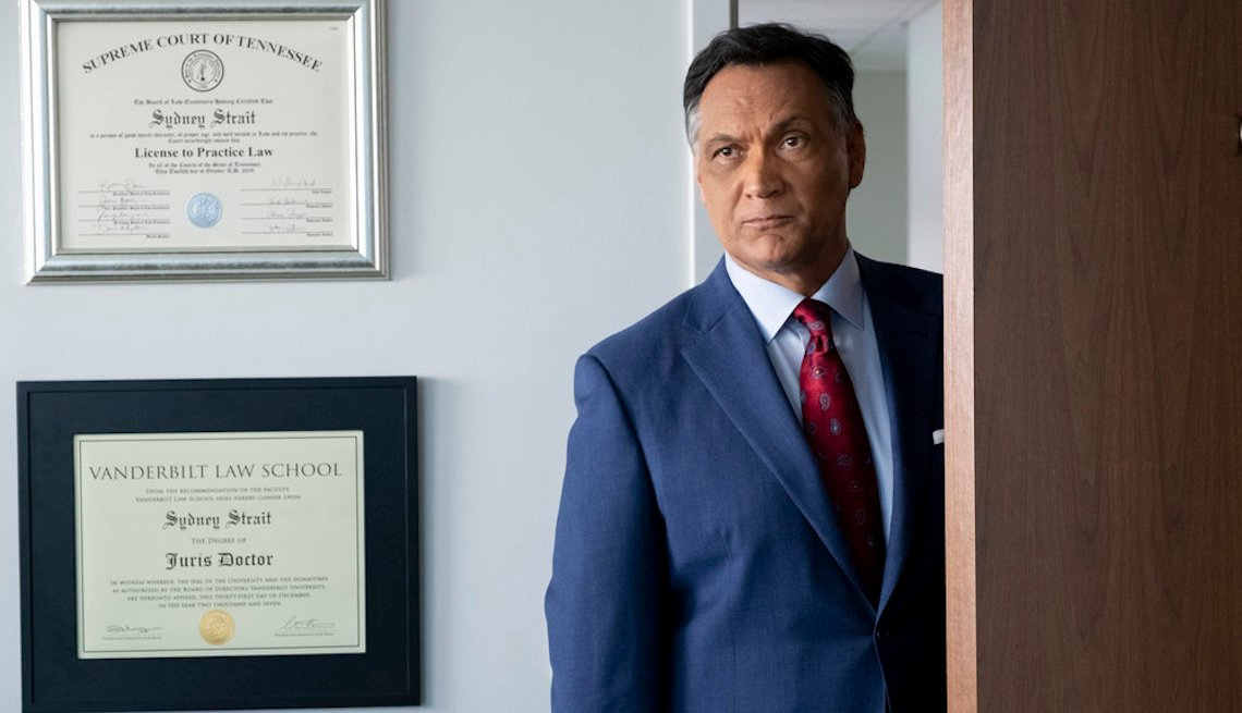 Jimmy Smits as Elijah Strait in 'Bluff City Law'