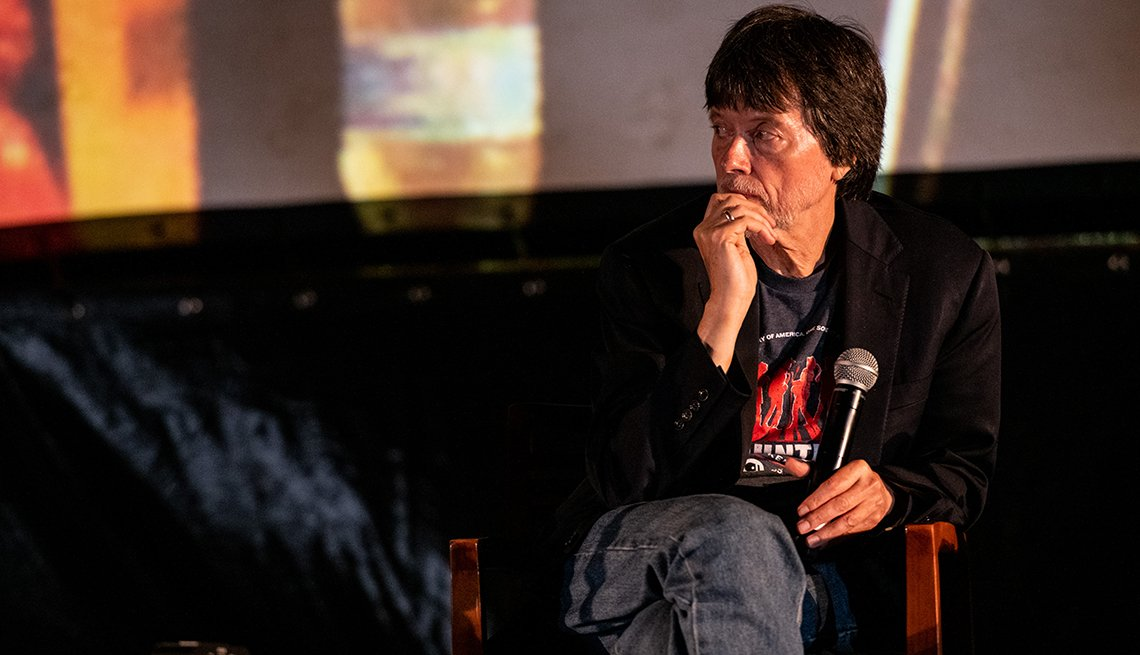 Ken Burns at screening of Country Music