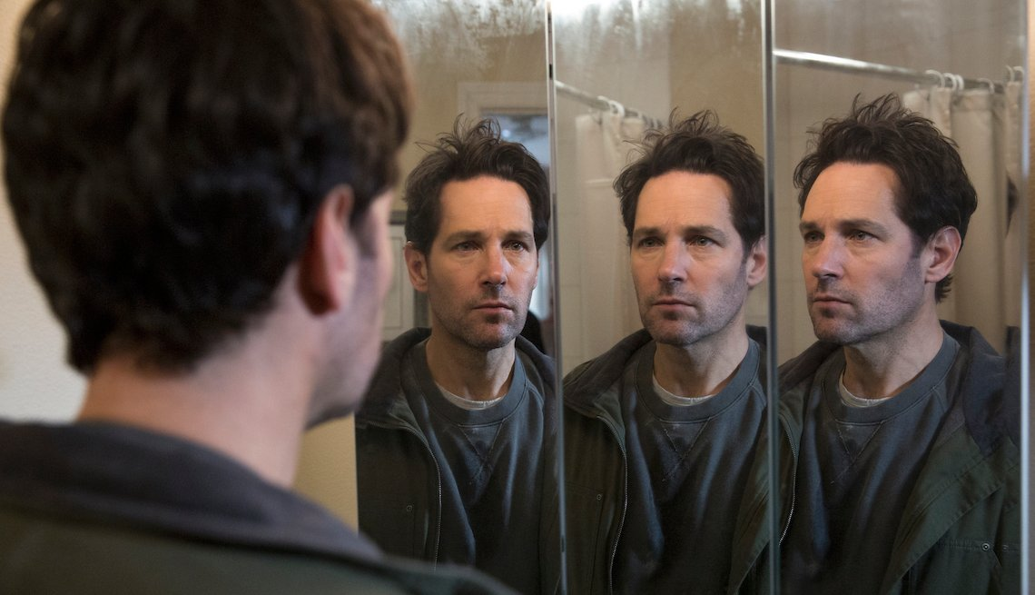 Paul Rudd in a scene from 'Living with Yourself.'