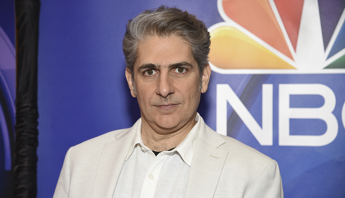 Michael Imperioli from the cast of Lincoln Rhyme Hunt for the Bone Collector attends the N B C 2019 2020 Upfront at The Four Seasons in New York on Monday May 13 2019