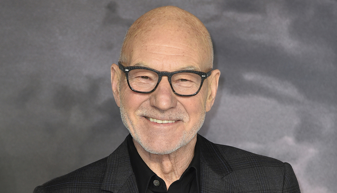 Sir Patrick Stewart attends the U K premiere of Star Trek Picard at Odeon Luxe Leicester Square