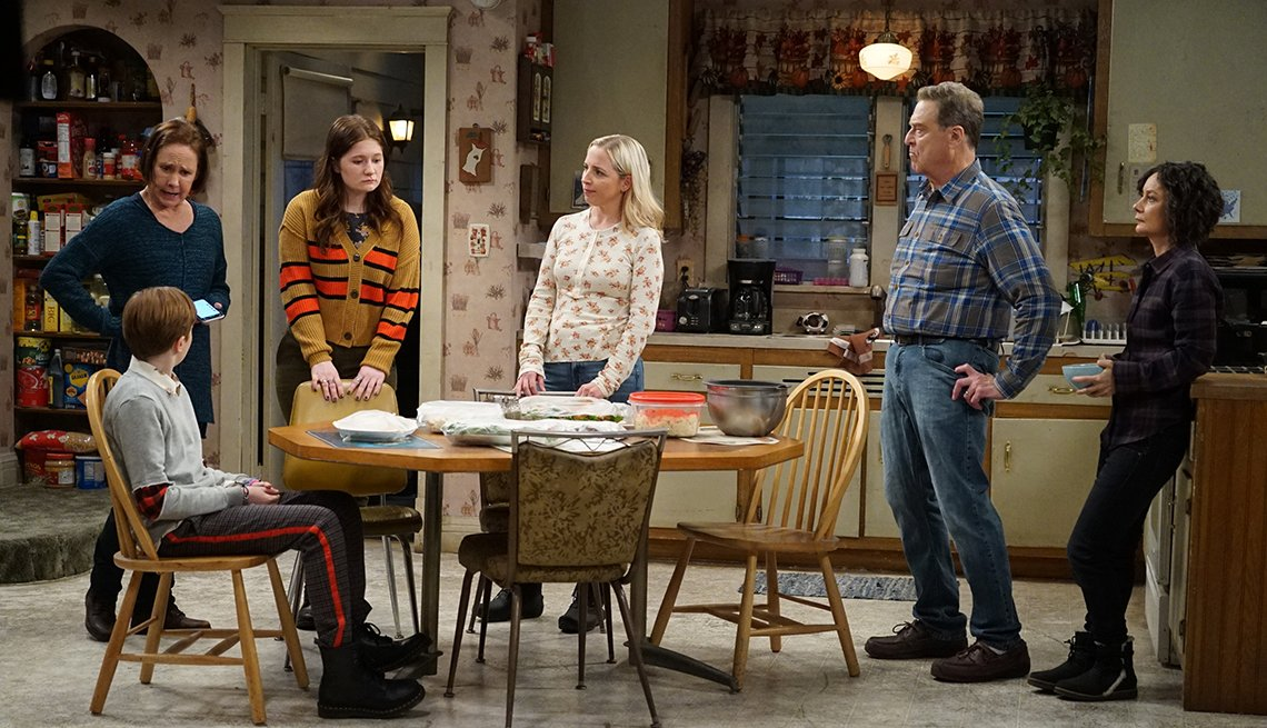 A scene from the A B C show The Conners