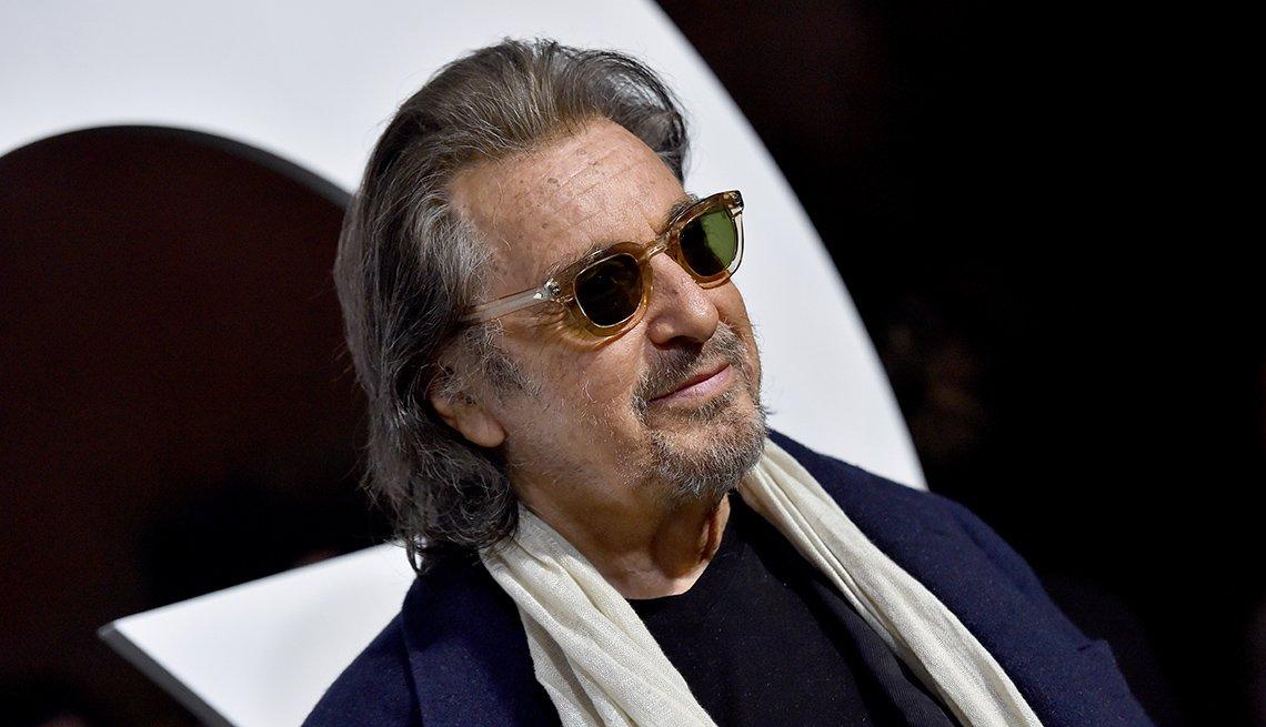 Al Pacino atiende a la gala del Hombre del año 2019 de la revista G Q, en Hollywood, California, 2019.