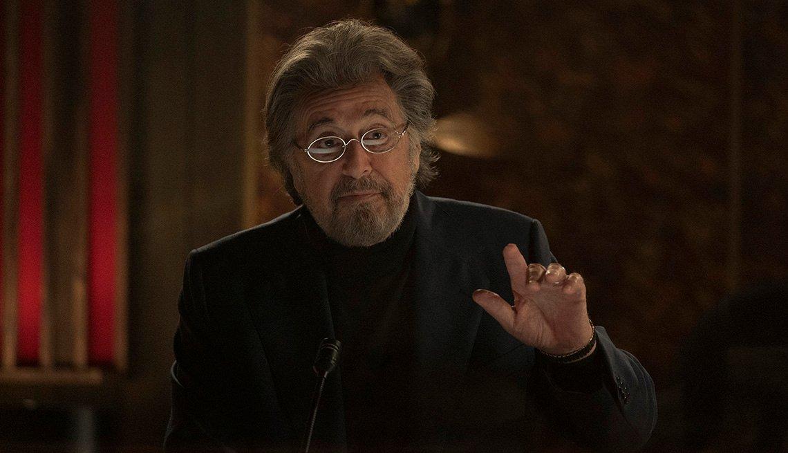 Al Pacino en una escena de la serie de Amazon, Hunters