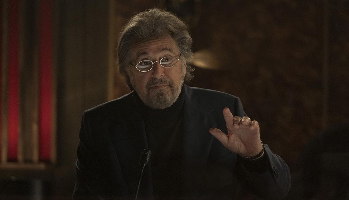 Al Pacino stars in the Amazon series Hunters