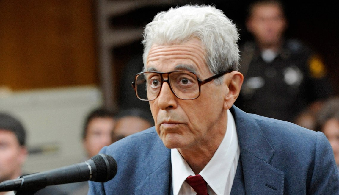 Al Pacino as Doctor Jack Kevorkian in the television film You Don't Know Jack