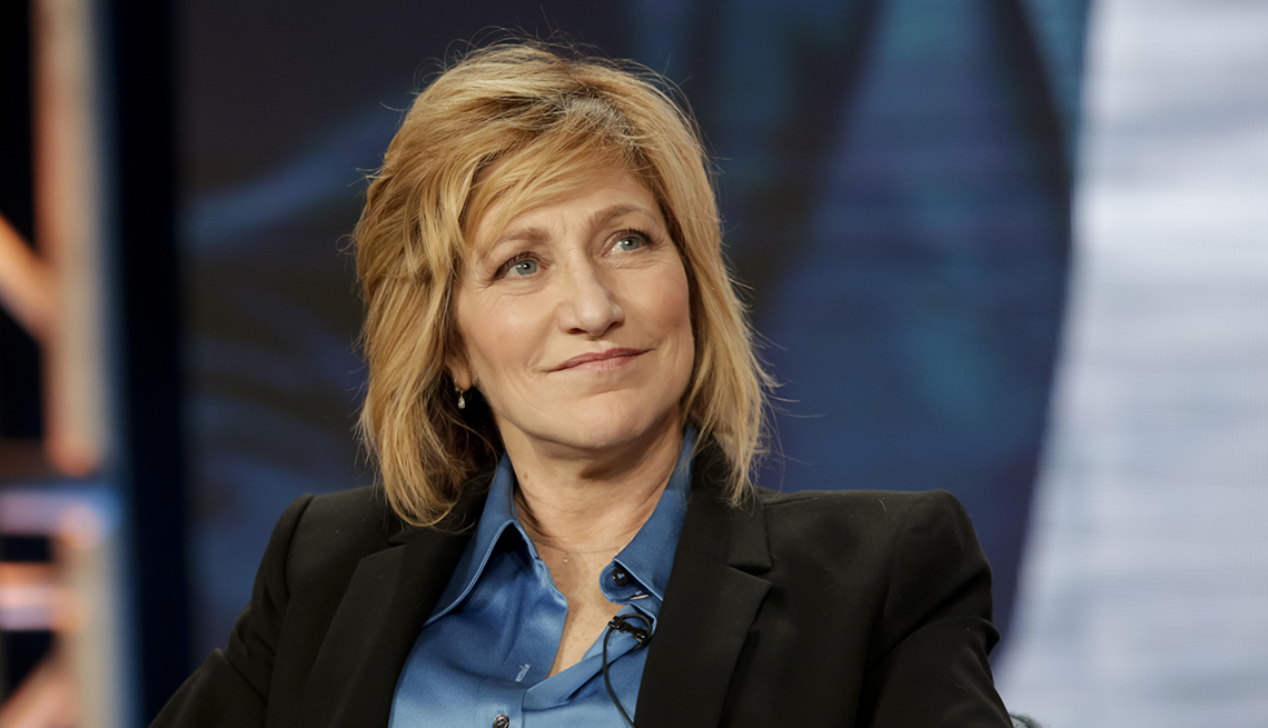 Edie Falco at the T C A Winter Press Tour 2020 on Sunday January 12 2020 at the Langham Huntington Hotel in Pasadena, California