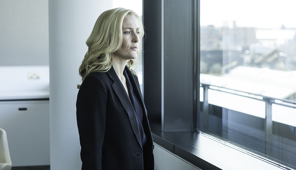 Gillian Anderson stars as Detective Superintendent Stella Gibson in The Fall
