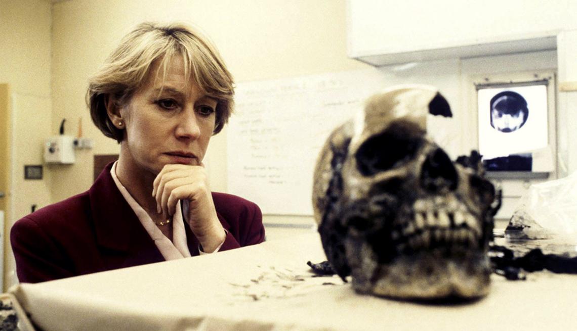 Helen Mirren como Jane Tennison en Prime Suspect.