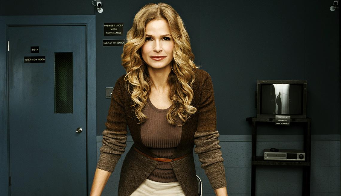 Kyra Sedgwick como la subdirectora del Departamento de Policía de Los Ángeles, Brenda Leigh Johnson en The Closer.