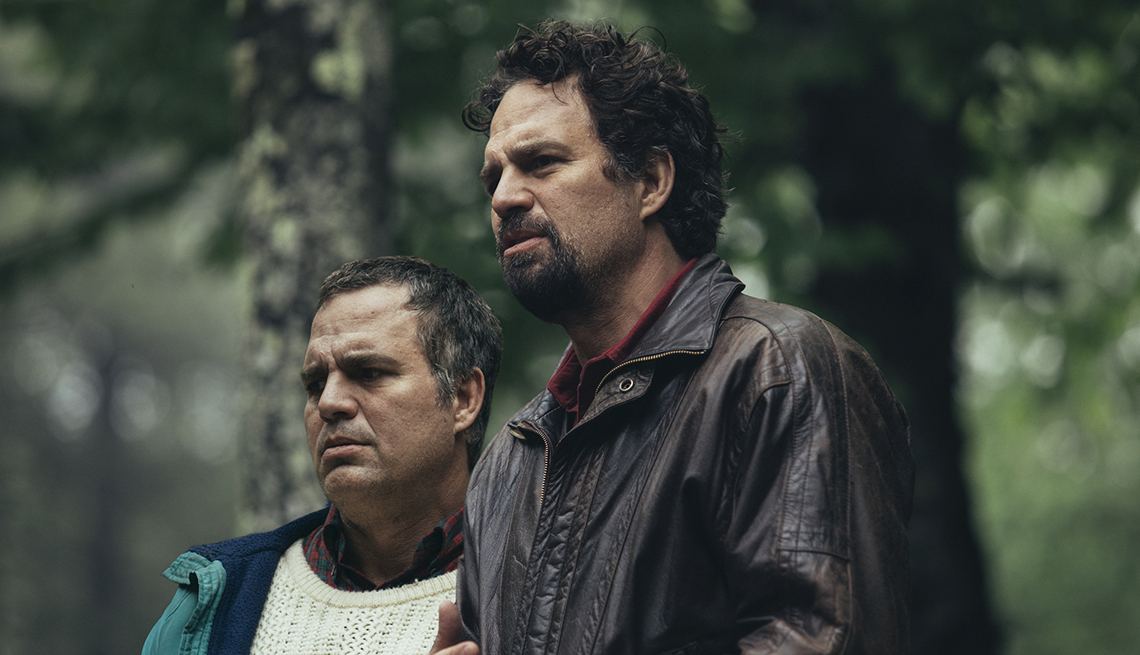Mark Ruffalo plays two different roles as twin brothers in I Know This Much Is True