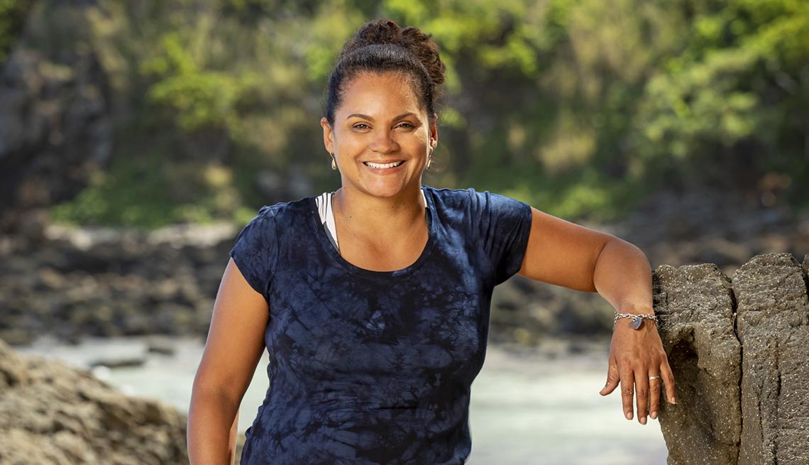Sandra Diaz-Twine dos veces ganadora del show Survivor