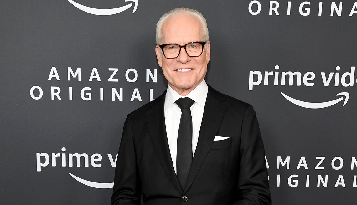 Tim Gunn attends the Amazon Studios 2020 Winter T C A Press Tour at Langham Hotel on January 14 2020 in Pasadena California