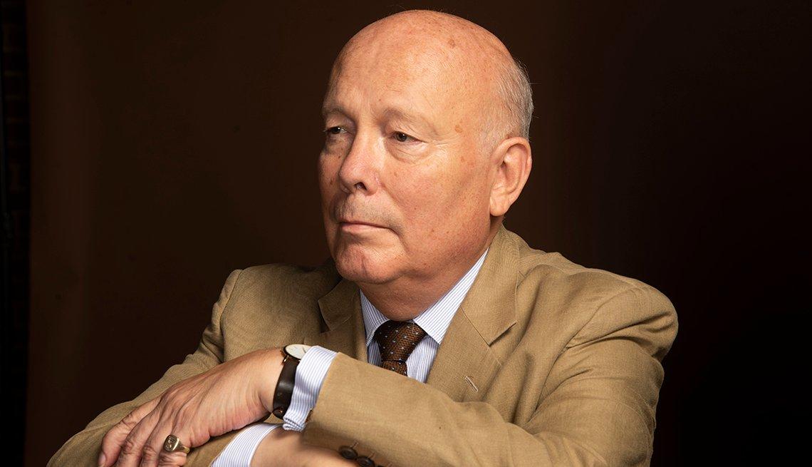 Actor novelist film director and screenwriter Julian Fellowes