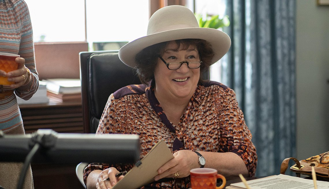 Margo Martindale in a scene from the T V series Mrs America