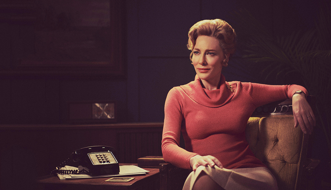 Cate Blanchett in a scene from the television show Mrs America