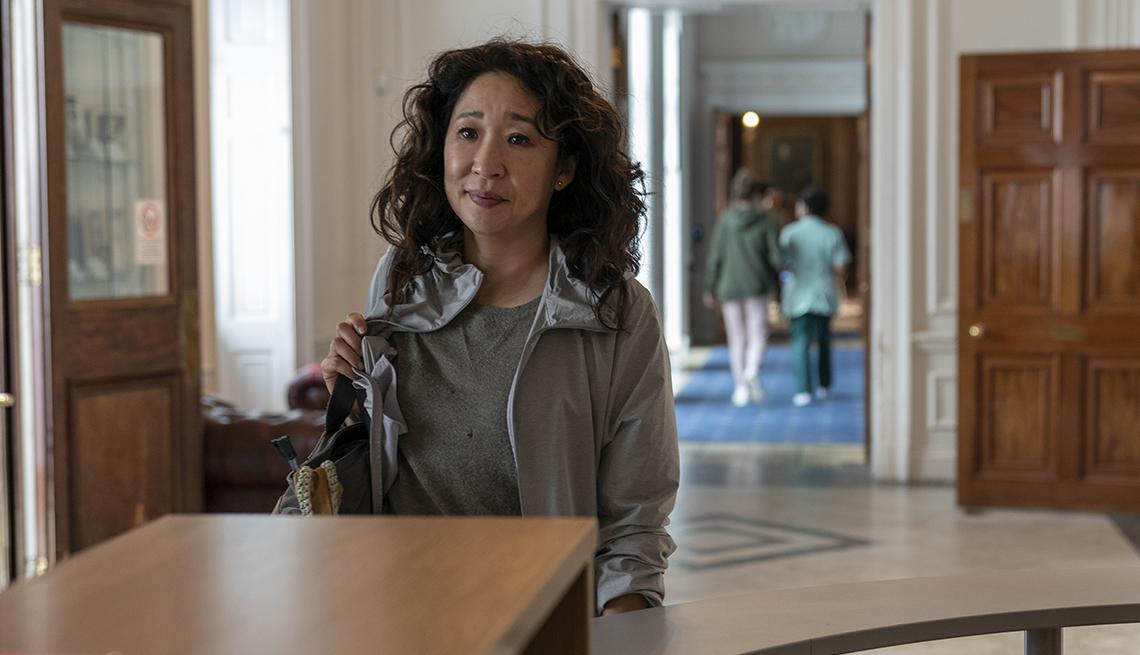 Sandra Oh como Eve Polastri en Killing Eve