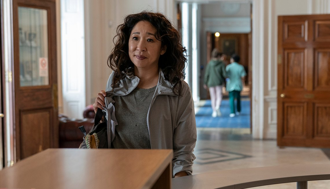 Sandra Oh as Eve Polastri in Killing Eve