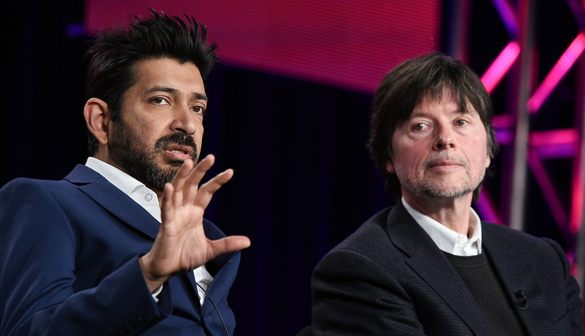Siddhartha Mukherjee and Ken Burns